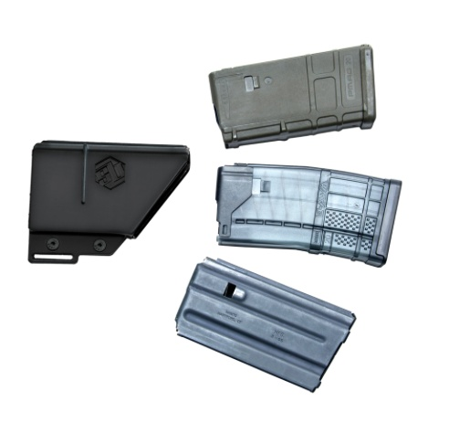 Special Order SB Tactical Magazine pouch, AR-15 style, 20rd, Black (Magazine not included)