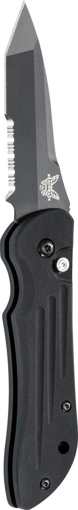 Auto Benchmade Benchmade 9501 Mini-Auto Stryker, Black Combo Blade