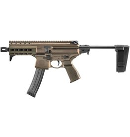 Handgun New Sig Sauer MPX K FDE Pistol, 9mm, 30rds, with telescoping brace