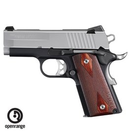 "Handgun New Sig Sauer 1911 Ultra Compact, 9mm, Night Sights, 3.3"" barrel, 8 rd"