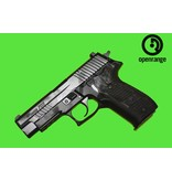 Handgun Used USED Sig Sauer P226 Extreme, Black and Grey Edition, Sig custom shop action enhancement, 9mm, 3 magazines, Blackpoint Holster