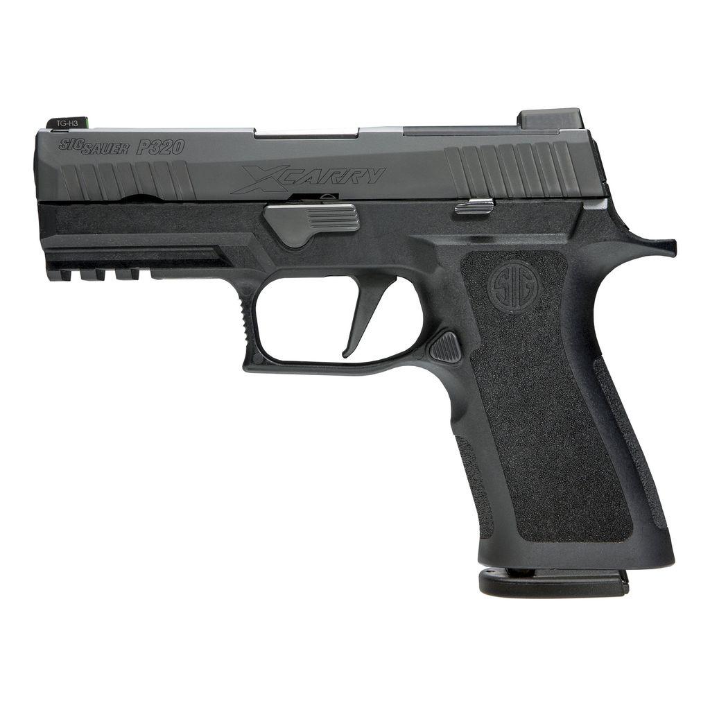 "Handgun New Sig Sauer P320 X-Carry, 9mm, 3.9"" Barrel, 17 rd, XRay3 Night Sights"