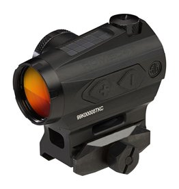 Optics Sig Sauer Romeo 4T Tactical/Solar Red Dot Sight, 2 MOA Circle Plex
