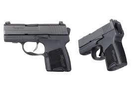 "Handgun New Sig Sauer P290, Re-Strike, DAO, Compact, 9mm, 2.9"" Barrel, Black, NS, 6Rd 8Rd, 2 Magazines (special order)"
