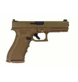 Handgun New Glock 17 Vicker's Tactical, 9 mm, 17 rd, 3 mags, RTF, FDE