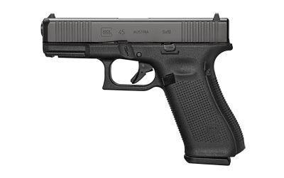 Handgun New Glock 45 gen 5, 9mm, Front Serrations, nDLC, 3 x 17rd