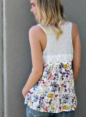 FLORAL I KNOW TOP
