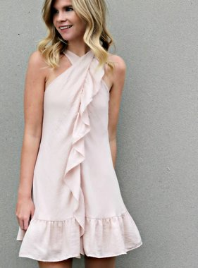 RUFFLE HARMONY DRESS