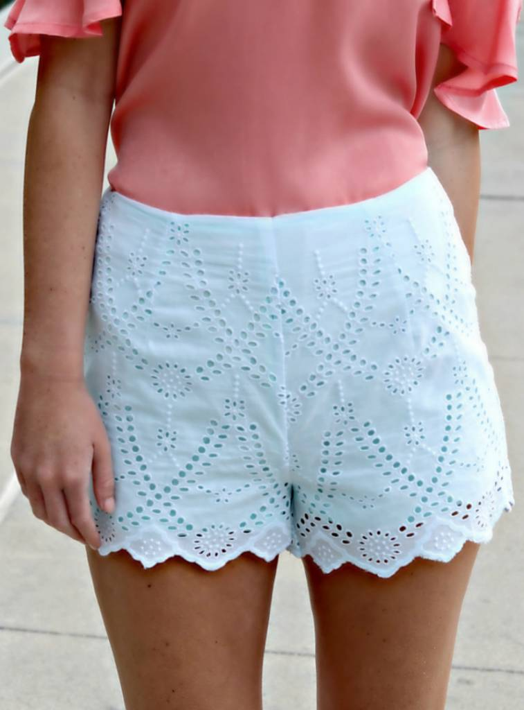 EYELET OF THE BEHOLDER SHORTS