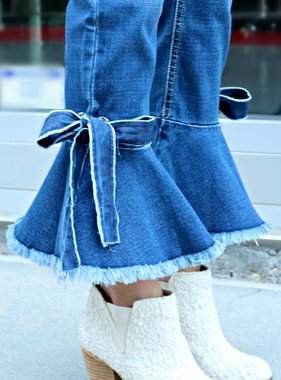 PEACE, LOVE & BOWS DENIM