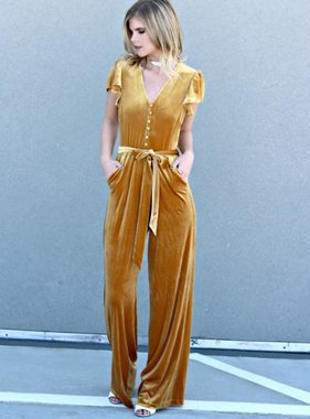 EVERYDAY IS A FASHION SHOW JUMPSUIT