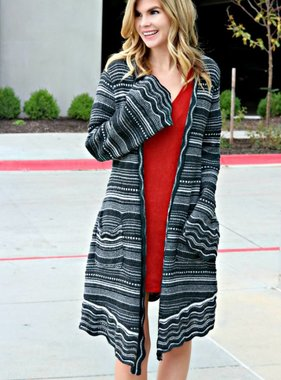 NO STRINGS ATTACHED CARDIGAN