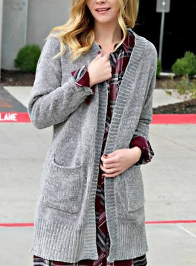 TIME FOR THE COZY CARDIGAN
