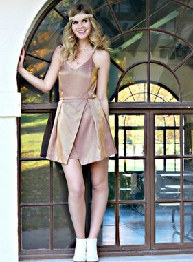 GLAM FESTIVITIES DRESS