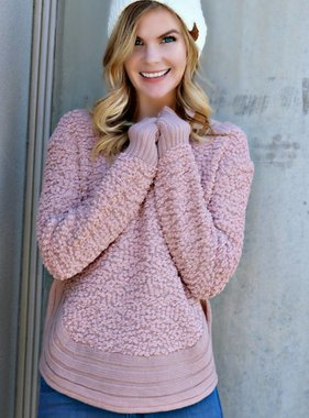 COZY ON POINT SWEATER