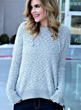 FOR THE COZY OF IT SWEATER