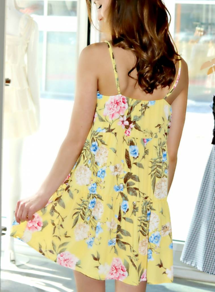 SUNSHINE ON MY SHOULDERS DRESS
