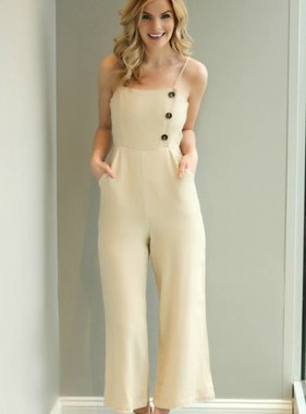 WE WANDER CROPPED JUMPSUIT