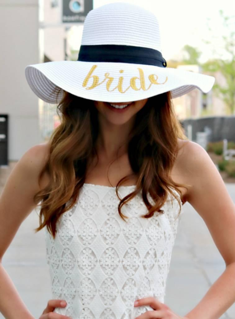 BRIDE SUN HAT