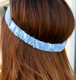 DENIM KNOT STRETCH HEADBAND