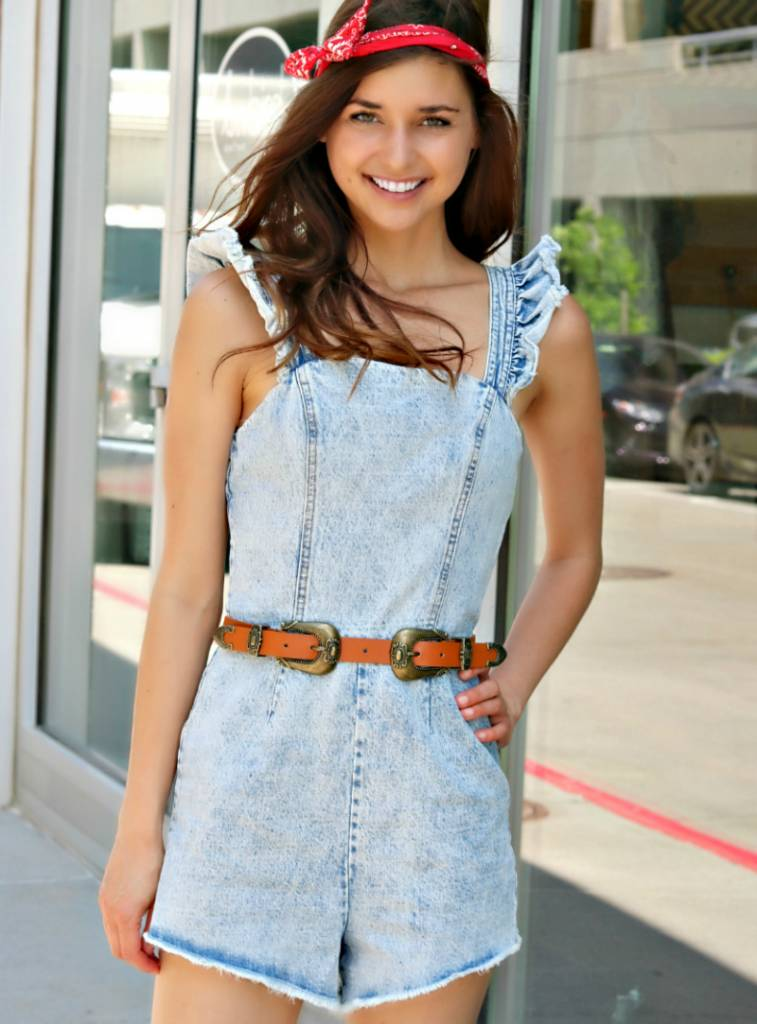 TOO COOL FOR SCHOOL ROMPER