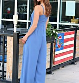 CHASING THE BLUES AWAY JUMPSUIT