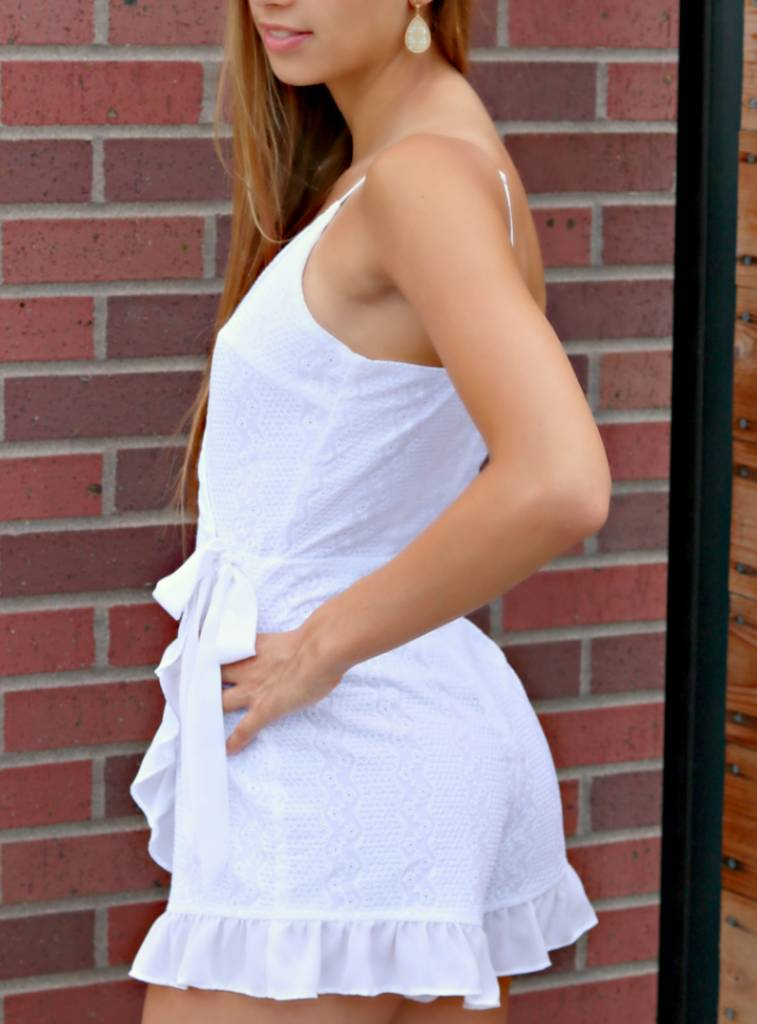 ON THE BRIDE SIDE ROMPER