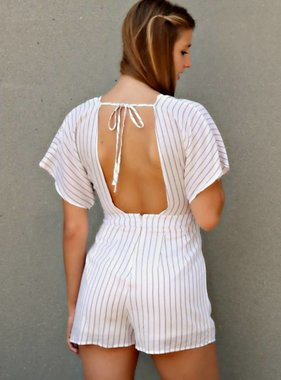WALK ON OUT ROMPER