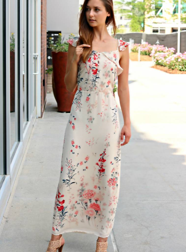 FROM ADMIRATION TO LOVE MAXI DRESS