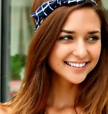 GRID BOW HEADBAND