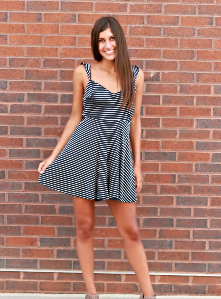 TWO-WAY STREET DRESS