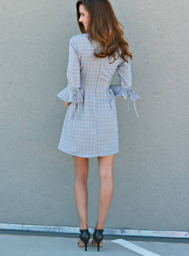 PLAIDLY IN LOVE DRESS