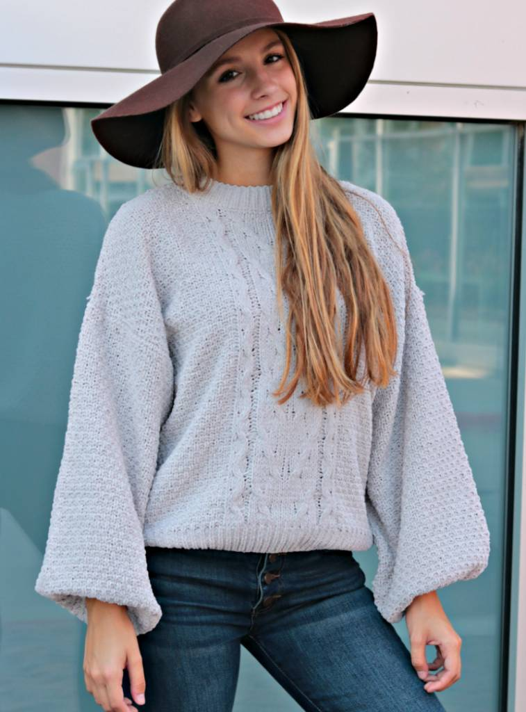 SWEET FALL NIGHTS SWEATER