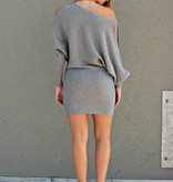 HOMETOWN CUTIE SWEATER DRESS
