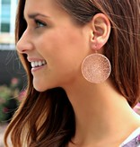 FILIGREE CIRCLE EARRINGS