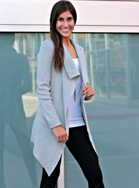 THE SIMPLE LIFE CARDIGAN