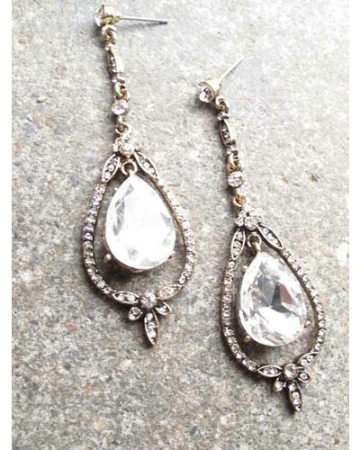 Dressy antique chandelier earrings bobbles and lace mozeypictures Images
