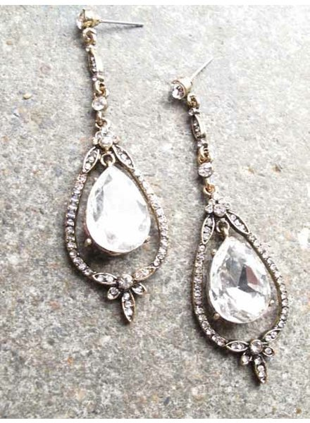 Dressy Antique chandelier earrings