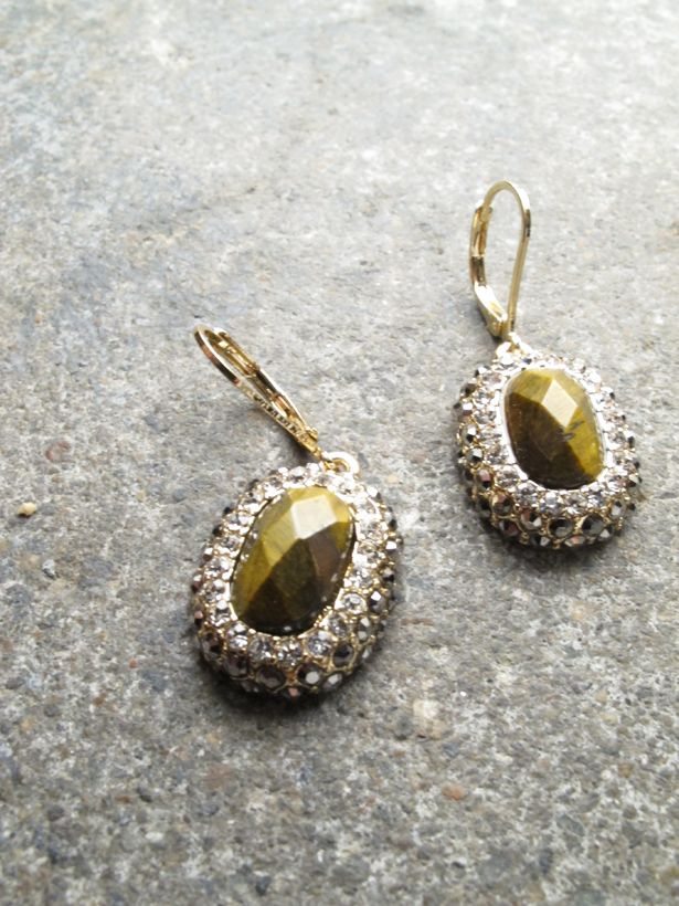 Dressy Dressy rhinestone stone earrings