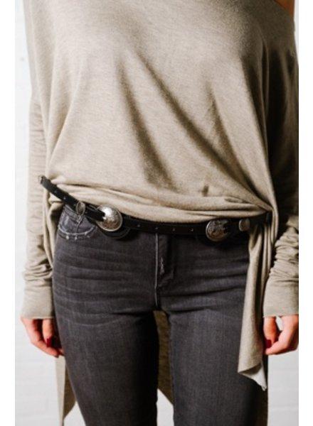 Belt Skinny western style belt