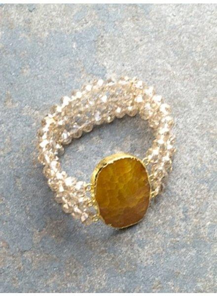 Stone Beaded rock bracelet