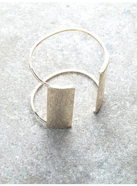 Gold Shiny open cuff