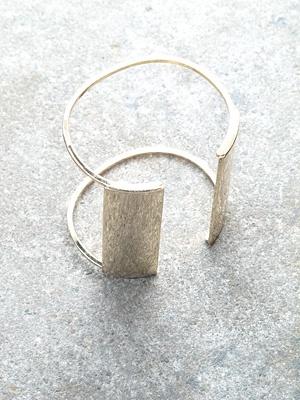 Gold Shiny open cuff