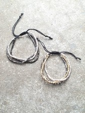 Trend Triple stranded bracelet