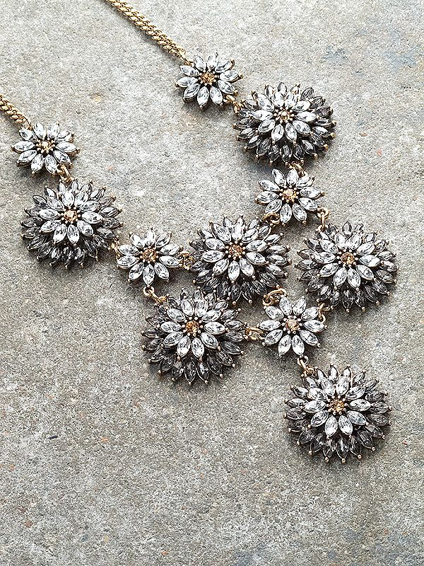 Dressy Rhinestone flowers