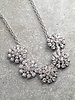 Dressy Silver flower statement *BACK IN STOCK!