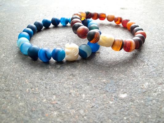 Stone Medium elephant bracelet
