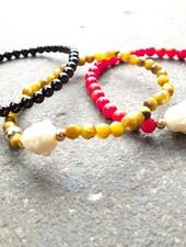 Stone Buddha bracelet