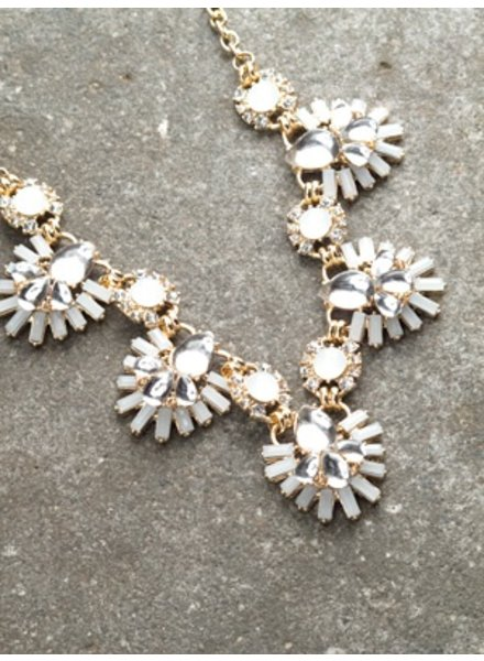 Trend Enamel and rhinestone statement