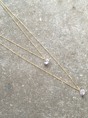 Dressy Double layer crystal strands